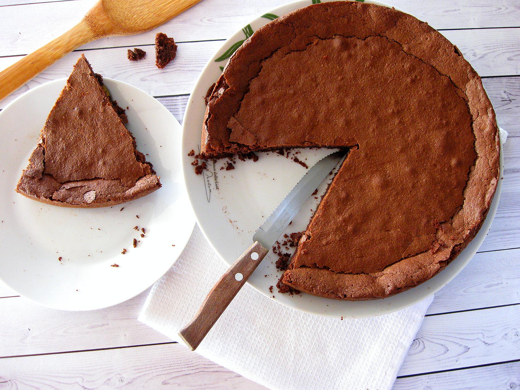 Шоколадный диетический бисквит