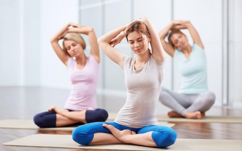 Асаны в йоге поза лотоса и асаны для спины