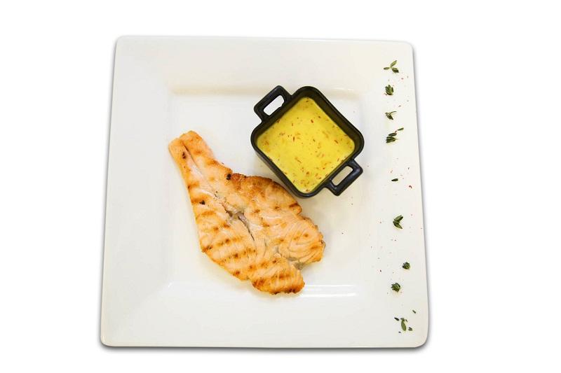 Шафрановый соус с рыбой