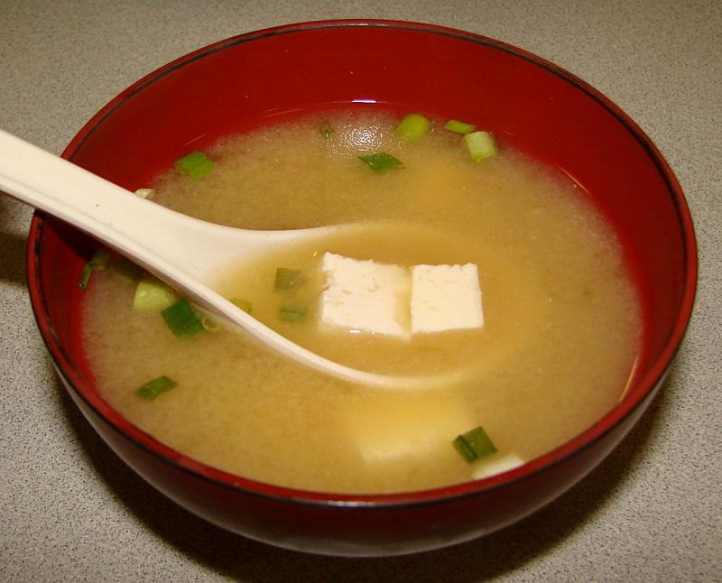 Куриный суп с тофу