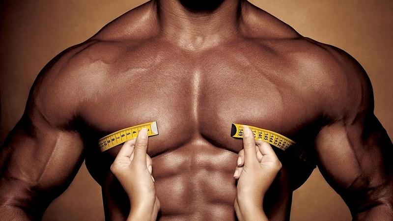 Мужские грудные мышцы измерения